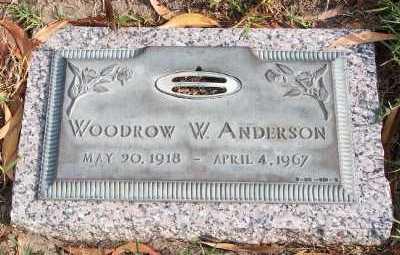 ANDERSON, WOODROW W. - Lee County, Florida | WOODROW W. ANDERSON - Florida Gravestone Photos