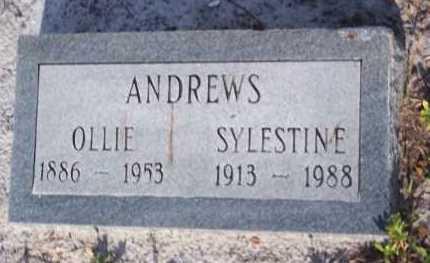 ANDREWS, SYLESTINE - Lee County, Florida | SYLESTINE ANDREWS - Florida Gravestone Photos