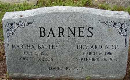 BARNES, SR, RICHARD N - Lee County, Florida | RICHARD N BARNES, SR - Florida Gravestone Photos