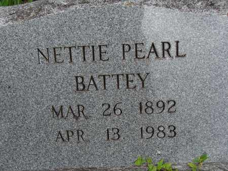 BATTEY, NETTIE PEARL - Lee County, Florida | NETTIE PEARL BATTEY - Florida Gravestone Photos