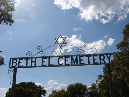 *TEMPLE BETH EL GARDEN OF MEMO, SIGN - Lee County, Florida | SIGN *TEMPLE BETH EL GARDEN OF MEMO - Florida Gravestone Photos