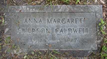 FRIERSON CALDWELL, ANNA MARGARET - Lee County, Florida | ANNA MARGARET FRIERSON CALDWELL - Florida Gravestone Photos