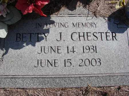 CHESTER, BETTY J - Lee County, Florida | BETTY J CHESTER - Florida Gravestone Photos