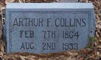 COLLINS, ARTHUR FRANCIS - Lee County, Florida   ARTHUR FRANCIS COLLINS - Florida Gravestone Photos