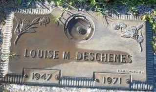 DESCHENES, LOUISE M. - Lee County, Florida | LOUISE M. DESCHENES - Florida Gravestone Photos