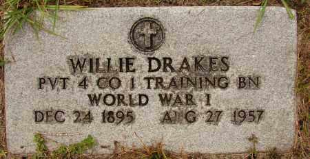 DRAKES (VETERAN WWI), WILLIE - Lee County, Florida | WILLIE DRAKES (VETERAN WWI) - Florida Gravestone Photos