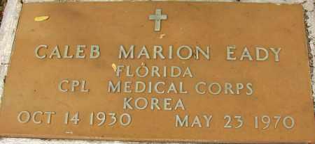 EADY (VETERAN KOR), CALEB MARION - Lee County, Florida | CALEB MARION EADY (VETERAN KOR) - Florida Gravestone Photos