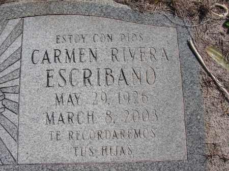 ESCRIBANO, CARMEN - Lee County, Florida | CARMEN ESCRIBANO - Florida Gravestone Photos