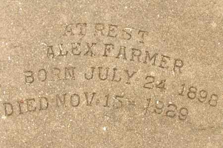 FARMER, ALEX - Lee County, Florida   ALEX FARMER - Florida Gravestone Photos