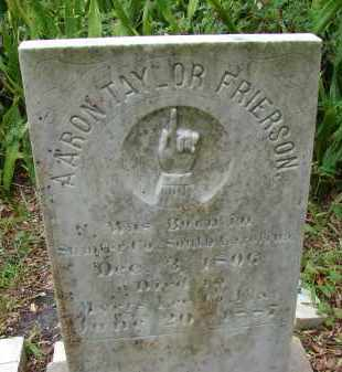 FRIERSON, AARON TAYLOR - Lee County, Florida | AARON TAYLOR FRIERSON - Florida Gravestone Photos