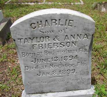 """FRIERSON, CHARLES """"CHARLIE"""" - Lee County, Florida 