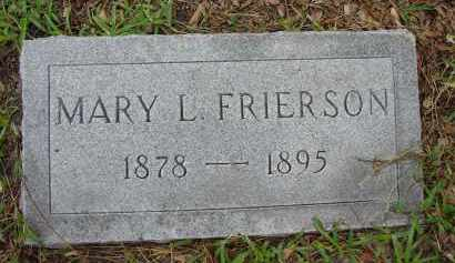 FRIERSON, MARY LOUISE - Lee County, Florida   MARY LOUISE FRIERSON - Florida Gravestone Photos