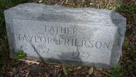 FRIERSON, TAYLOR - Lee County, Florida | TAYLOR FRIERSON - Florida Gravestone Photos