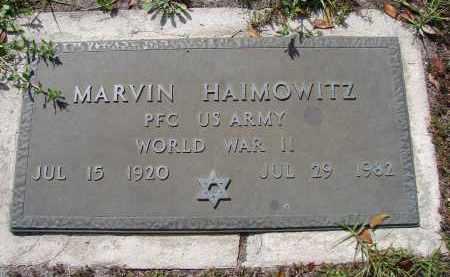 HAIMOWITZ (VETERAN WWII), MARVIN - Lee County, Florida | MARVIN HAIMOWITZ (VETERAN WWII) - Florida Gravestone Photos