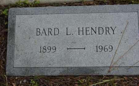 HENDRY, BARD L - Lee County, Florida | BARD L HENDRY - Florida Gravestone Photos