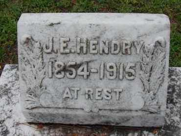 HENDRY, JAMES EDWARD - Lee County, Florida   JAMES EDWARD HENDRY - Florida Gravestone Photos