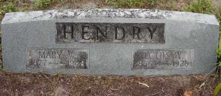 APTHORP HENDRY, MARY W - Lee County, Florida | MARY W APTHORP HENDRY - Florida Gravestone Photos