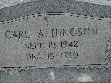HINGSON, CARL A. - Lee County, Florida | CARL A. HINGSON - Florida Gravestone Photos