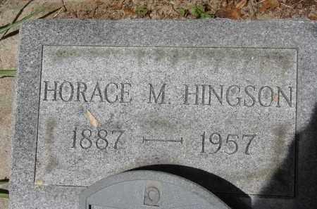 HINGSON, HORACE M. - Lee County, Florida | HORACE M. HINGSON - Florida Gravestone Photos