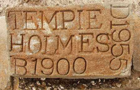 HOLMES, TEMPIE - Lee County, Florida   TEMPIE HOLMES - Florida Gravestone Photos