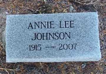 JOHNSON, ANNIE LEE - Lee County, Florida | ANNIE LEE JOHNSON - Florida Gravestone Photos