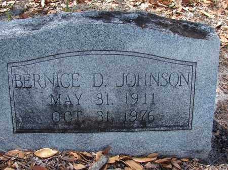 JOHNSON, BERNICE D - Lee County, Florida | BERNICE D JOHNSON - Florida Gravestone Photos