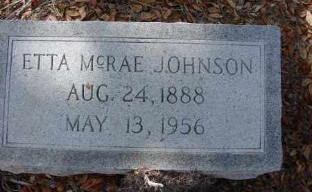 JOHNSON, ETTA - Lee County, Florida | ETTA JOHNSON - Florida Gravestone Photos