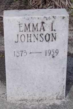 JOHNSON, EMMA I. - Lee County, Florida | EMMA I. JOHNSON - Florida Gravestone Photos