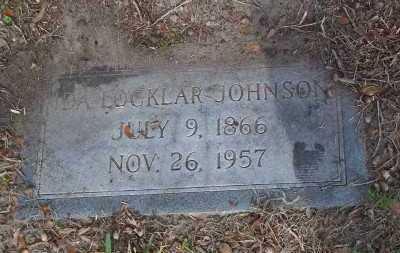 JOHNSON, IDA LOCKLAR - Lee County, Florida   IDA LOCKLAR JOHNSON - Florida Gravestone Photos