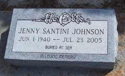 SANTINI JOHNSON, JENNY - Lee County, Florida | JENNY SANTINI JOHNSON - Florida Gravestone Photos