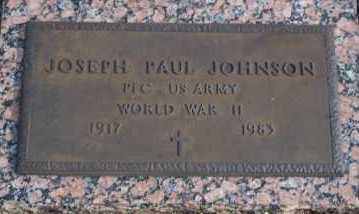 JOHNSON, JOSEPH PAUL - Lee County, Florida | JOSEPH PAUL JOHNSON - Florida Gravestone Photos