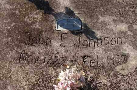JOHNSON, JOHN F. - Lee County, Florida | JOHN F. JOHNSON - Florida Gravestone Photos