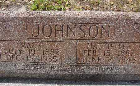 JOHNSON, MACK - Lee County, Florida | MACK JOHNSON - Florida Gravestone Photos