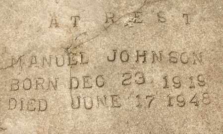 JOHNSON, MANUEL - Lee County, Florida | MANUEL JOHNSON - Florida Gravestone Photos