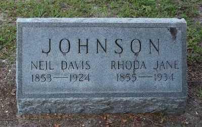 JOHNSON, RHODA JANE - Lee County, Florida | RHODA JANE JOHNSON - Florida Gravestone Photos