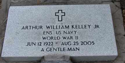 KELLEY, JR (VETERAN WWII), ARTHUR WILLIAM - Lee County, Florida | ARTHUR WILLIAM KELLEY, JR (VETERAN WWII) - Florida Gravestone Photos