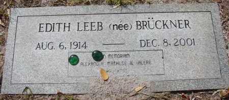 LEEB, EDITH - Lee County, Florida | EDITH LEEB - Florida Gravestone Photos