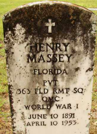MASSEY (VETERAN WWI), HENRY - Lee County, Florida   HENRY MASSEY (VETERAN WWI) - Florida Gravestone Photos