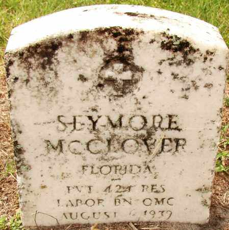 MCCLOVER (VETERAN WWI), SEYMORE - Lee County, Florida | SEYMORE MCCLOVER (VETERAN WWI) - Florida Gravestone Photos