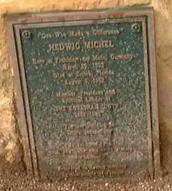 MICHEL, HEDWIG - Lee County, Florida   HEDWIG MICHEL - Florida Gravestone Photos