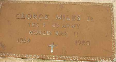 MILES, JR (VETERAN WWII), GEORGE - Lee County, Florida | GEORGE MILES, JR (VETERAN WWII) - Florida Gravestone Photos