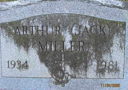 MILLER, ARTHUR JACKSON - Lee County, Florida   ARTHUR JACKSON MILLER - Florida Gravestone Photos