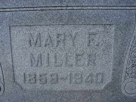 MILLER, MARY F - Lee County, Florida | MARY F MILLER - Florida Gravestone Photos
