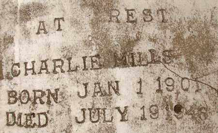 MILLS, CHARLIE - Lee County, Florida | CHARLIE MILLS - Florida Gravestone Photos