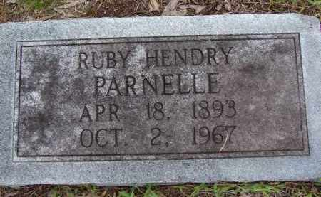 HENDRY PARNELLE, RUBY - Lee County, Florida | RUBY HENDRY PARNELLE - Florida Gravestone Photos