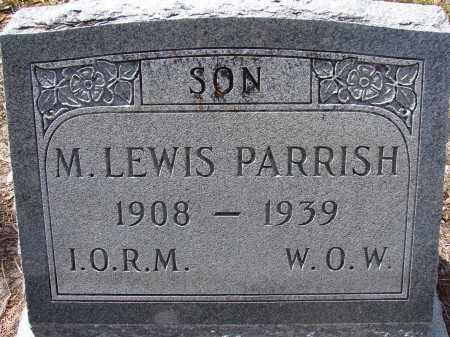 PARRISH, M LEWIS - Lee County, Florida | M LEWIS PARRISH - Florida Gravestone Photos