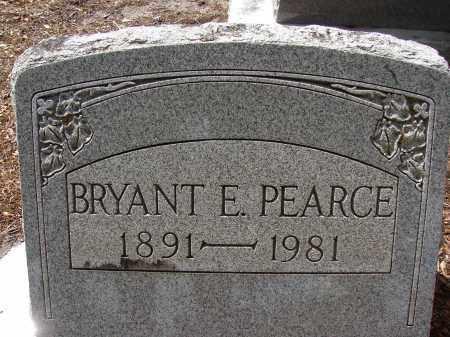 PEARCE, BRYANT E - Lee County, Florida | BRYANT E PEARCE - Florida Gravestone Photos