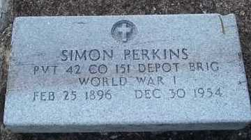 PERKINS (VETERAN WWI), SIMON - Lee County, Florida | SIMON PERKINS (VETERAN WWI) - Florida Gravestone Photos