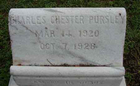 PURSLEY, CHARLES CHESTER - Lee County, Florida | CHARLES CHESTER PURSLEY - Florida Gravestone Photos