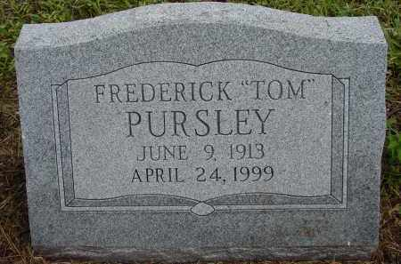 "PURSLEY, FREDERICK ""TOM"" - Lee County, Florida 